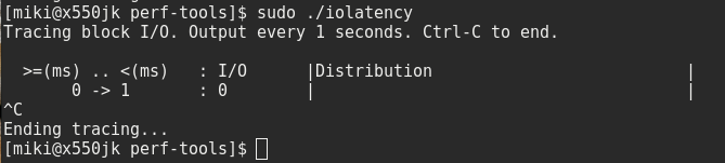 iolatency, disk latency data