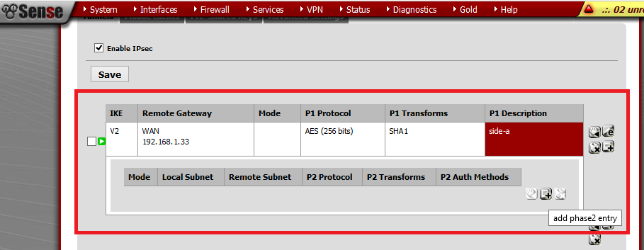 How to Configure IPsec VPN on PfSense Firewall