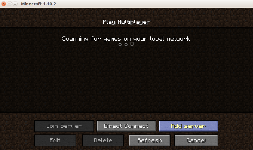 add the server