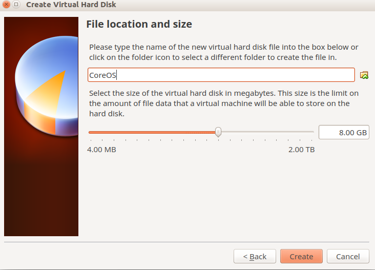 disk size