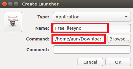 FreeFileSync Launcher