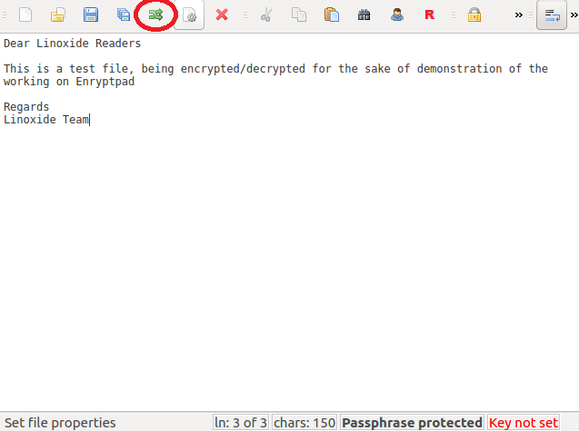 EncryptPad encryption