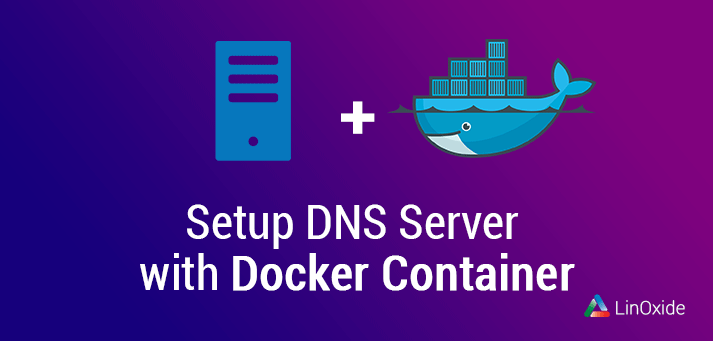 setup dns server docker container