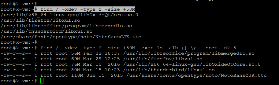 How to Find Large Files & Directories in Linux
