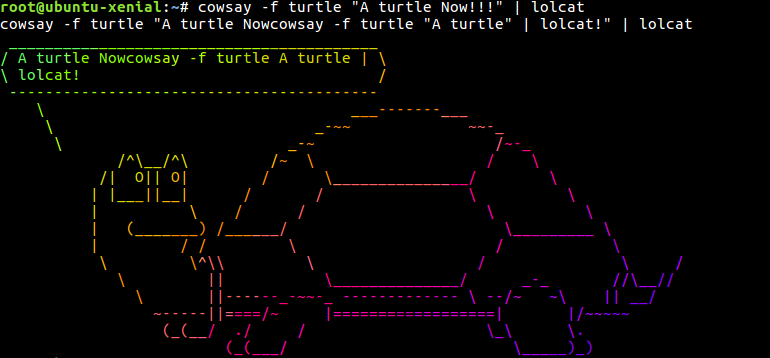 10 Lesser Known Linux Fun on Terminal with Crazy Outputs