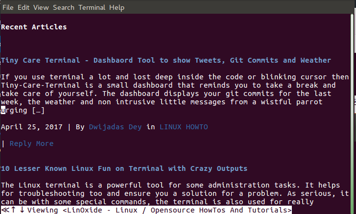 Tools to Perform 'Google Search' from Linux Terminal