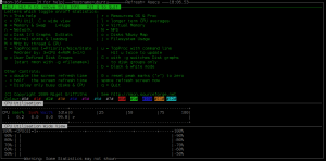 CPU performance monitor with nmon