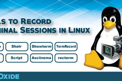 terminal record tools linux