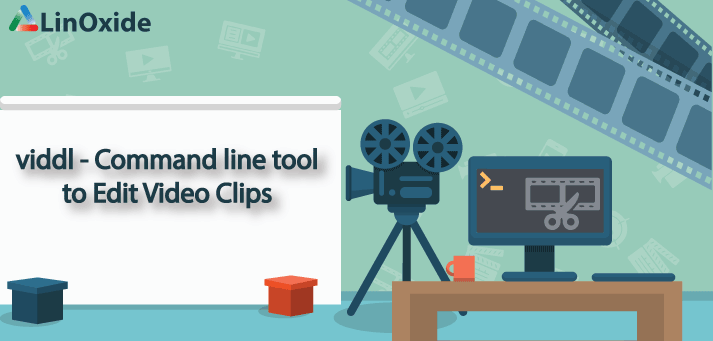 viddl - Command Line tool to Edit (cut, crop and resize) Video Clips