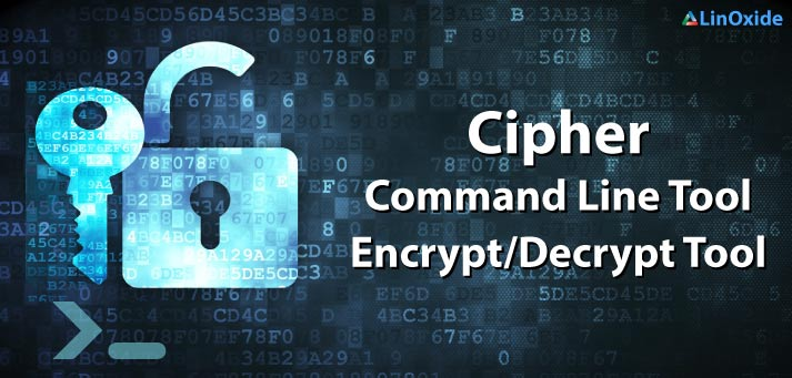 cipher encrypt file linux
