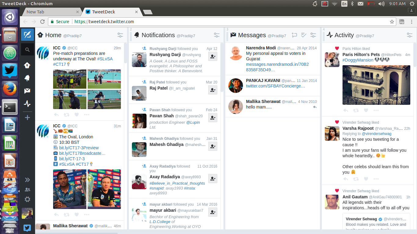 10 Twitter Clients for Linux Desktop and Command Line