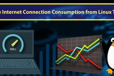 internet consumption measure linux