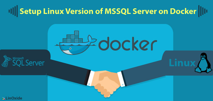 How to Setup MS SQL Server on Docker Container