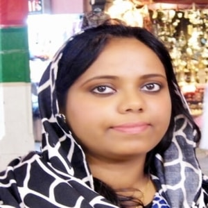A Picture of Saheetha Shameer