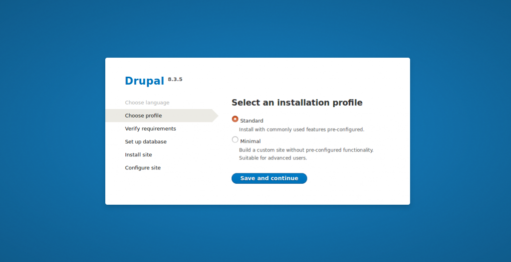 How to Install Drupal 8 with LetsEncrypt SSL on Debian 9