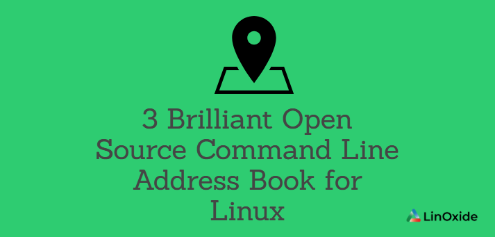 3 Open Source Command Line Address Book for Linux