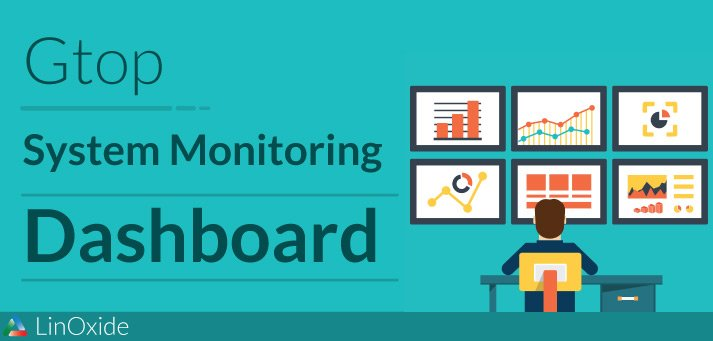 Gtop - A Linux System Monitoring Dashboard for Terminal