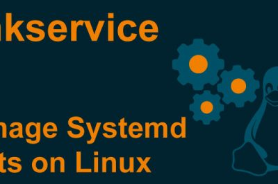chkservice systemd