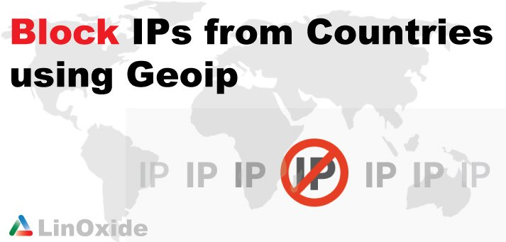 geoip block ip iptables