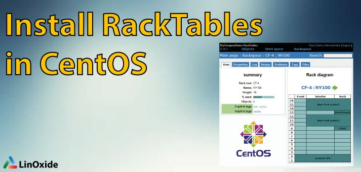 How to Install RackTables on CentOS 7