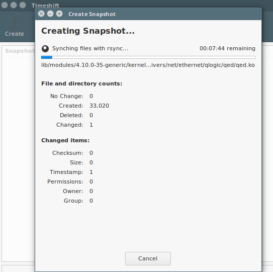 How to Take Linux System Snapshots with Timeshift