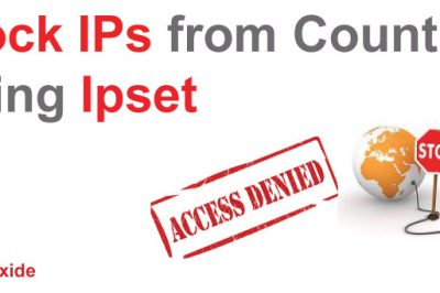 ipset block ip address