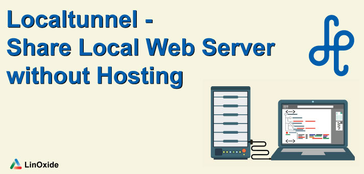 localtunnel share local webserver