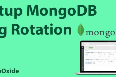 mongodb log rotation