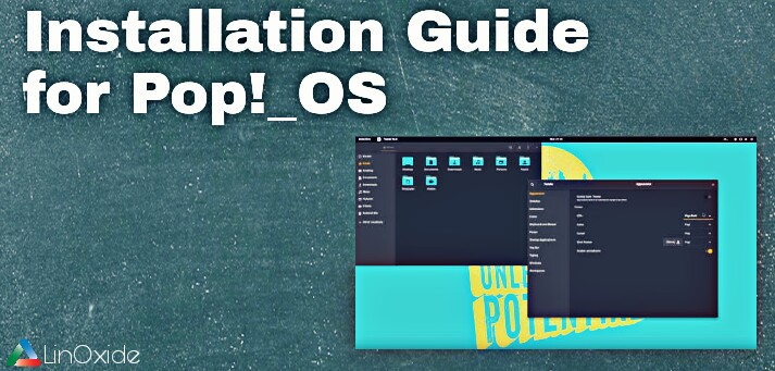 Pop OS Installation guide