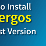 antergos install latest version