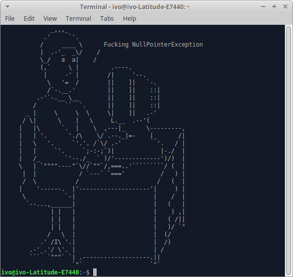 ascii terminal drawing