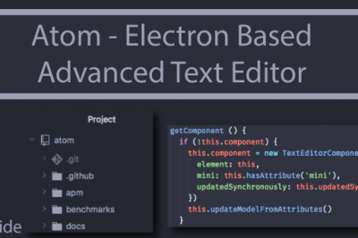 Atom Advanced Text Editor