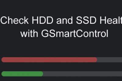 GSmartControl check hdd ssd