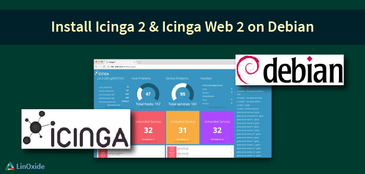 Icinga 2 Server Installation with Web 2 Interface on Debian 9 3 Server