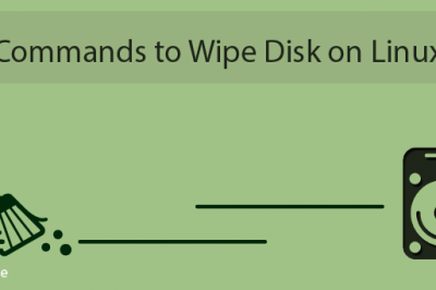 linux wipe disk commands