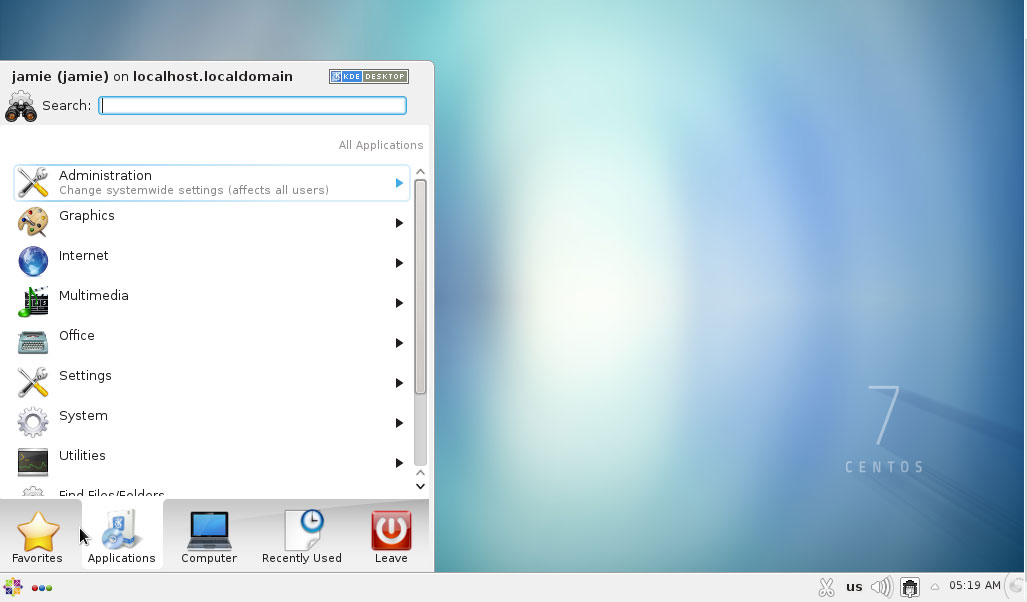kde desktop environment