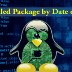 List installed Package Date