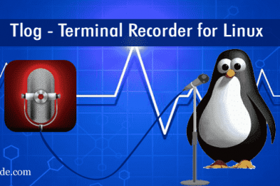 Tlog Terminal Recorder Linux