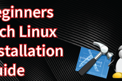 arch linux installation guide