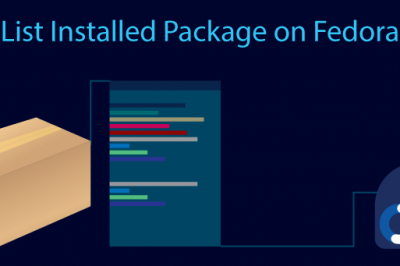 list installed package fedora