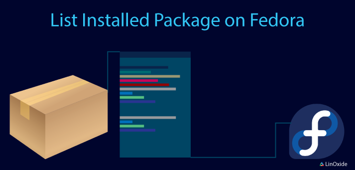 list installed package on fedora