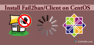 use Fail2ban centos7