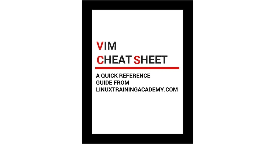 vim cheat sheet