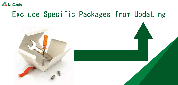 exclude specific package apt get