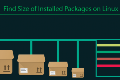 list size installed packages