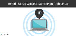netctl wifi static ip arch linux