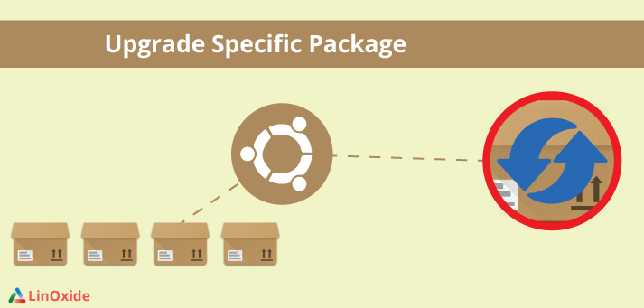 upgrade specific package linux