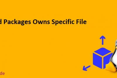 Find packages owns specific file