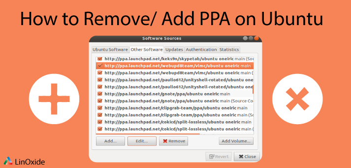 Add or Remove PPA Repositories on Ubuntu