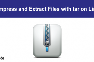 tar compress extract linux